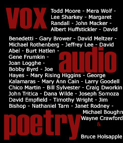 vox audio poetry