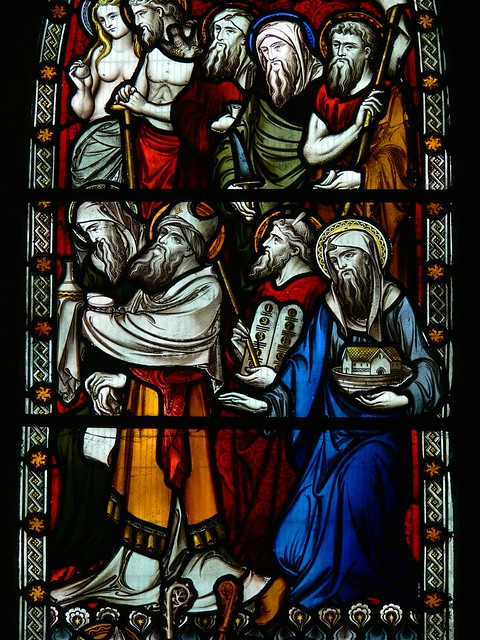 Detail east window Ladbroke, hardman
