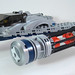 MOC-018 LEGO M Spaceship - Front/Side by andertoons