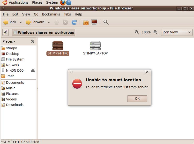 ubuntu] Newbie Samba & Windows 7