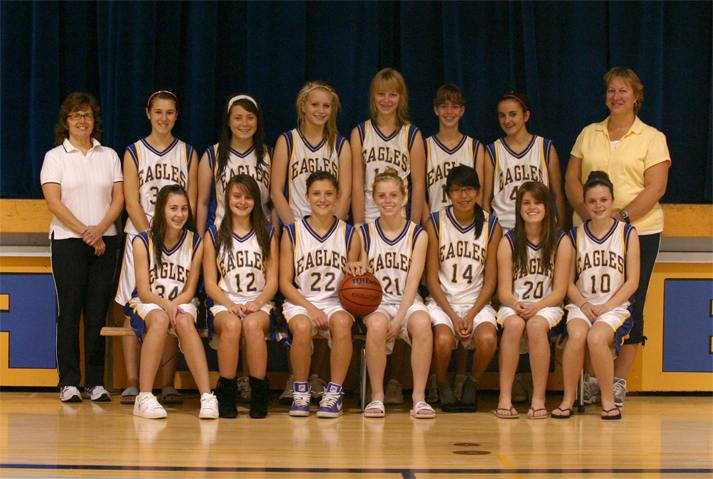 Junior Girls Basketball Team