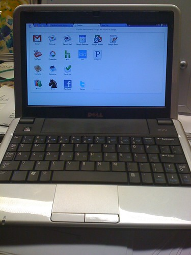 Chrome OS on Dell Mini 9