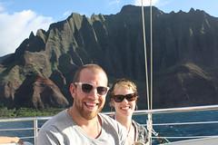 Noah + Gillian (GillianMacLeod) Tags: napalicoast hawaiihoneymoonmauikauainovember2009