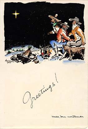 Christmas Greetings 1940