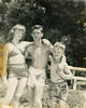 Vintage Bathing Suits (babyfella2007) Tags: old boy white black beach girl mobile kids swimming vintage carson children grant wwii alabama waldorf grandfather young suit edward 1940s era myrtle bathing