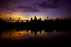 Sunrise at Angkor (Not so fast) Tags: asian temple asia cambodia angkor paulhopkins paulhopkinsphotography