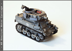 m8_2_02 (Captain Eugene) Tags: lego m8 motorcarriage howitzer lighttank legotank brickmania