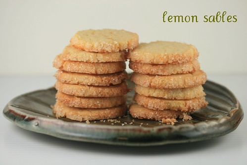 Lemon Sable Cookies - Tuesdays with Dorie