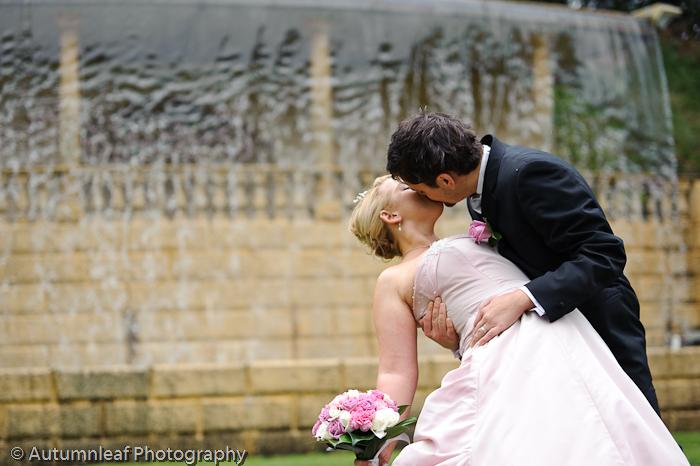 Prue & Paul's Wedding - Kisses