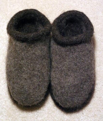 Slippers, done!