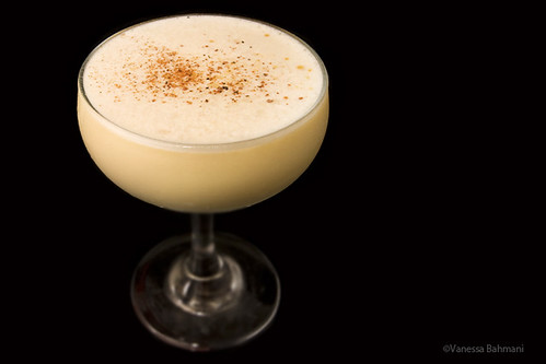 Bourbon Ginger Flip