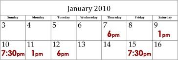 Raya APAP Calendar