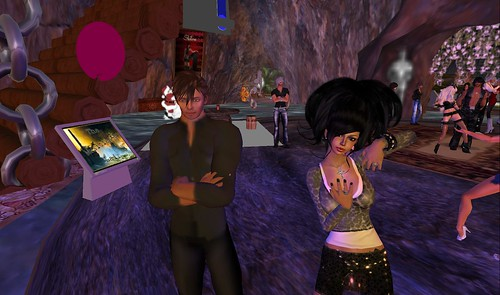 xavier, raftwet at the musicians lair in second life