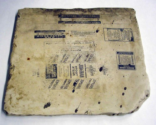 Lithographic stone by edinburghcityofprint (the Edinburgh City of Print initiative)