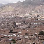 Cusco: Vista panorámica del Cusco, Patrimonio Cultural de la Humanidad