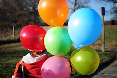 Colors are the smiles of nature. (erinwhitney) Tags: balloons brandi kinderfarmpark 35mmf18g nikond300s