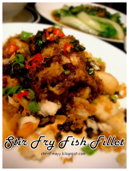 Stir Fried Fish Fillet with Special Sauce