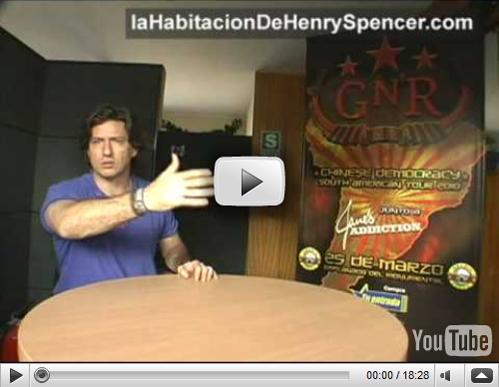 Guns N Roses Jane s Addiction en Concierto Lima Peru Videos Zonas Precios Entradas