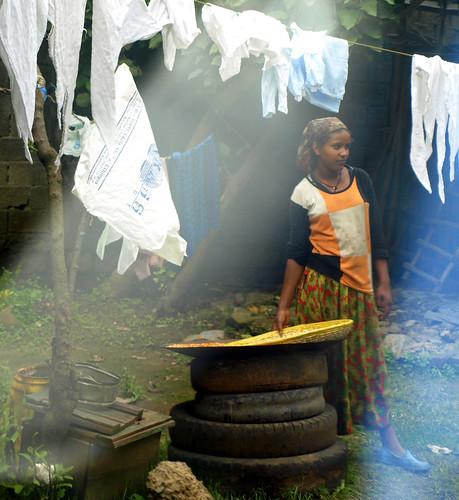 Empleada de hogar. Addis Abeba