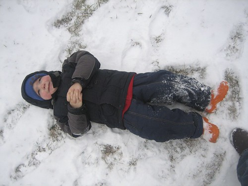 want to make a snow angel?