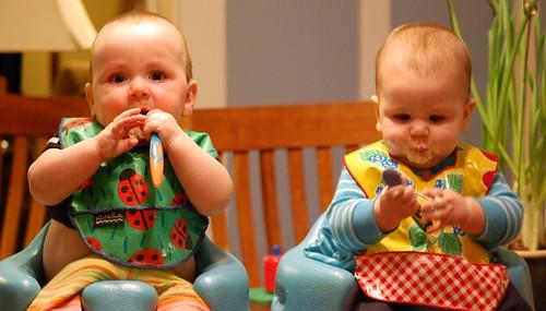 I & M eating 2