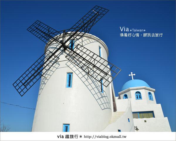 【澎湖民宿】遇見秘境~遇見經典浪漫的藍白風地中海民宿!6