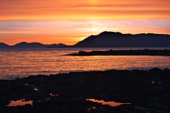 Sunset - Caamano Point (Mitch Seaver) Tags: ocean sunset sky seascape mountains beach nature clouds landscape photography for coast scenic tongassnationalforest coastline recreation ketchikan tongass colorphotoaward mygearandme alaskanaturesoutheastalaskaketchikancanon