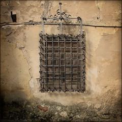 I+I+I+I (Regine Sahmel) Tags: window ventana reja spain fenster finestra spanien gitter fenstergitter