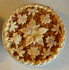 Rhubarb Pie (pippijewelry) Tags: love leaves fruit pie crust leaf strawberry cookie message dish letters butter pippi alphabet rhubarb baked cutters pippijewelry letthemeatpie