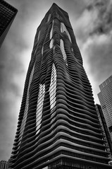 Aqua Tower (rseidel3) Tags: city chicago building tower skyline architecture nikon aqua hdr aquatower