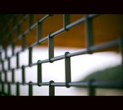 Barred (khai_nomore) Tags: film 35mm seaside bokeh publicbuilding negative projects rm wideopen nikonf5 fujifilmreala100 nikkor50mmf12 lowresolutionscan labscan bokehlicious autaut