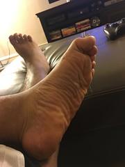 IMG_9826 (_bagent1) Tags: myfeet boyfeet chubbyfeet barefeet bearfeet thickfeet chubbytoes chubby chubbysoles soles slides sandals tops toes