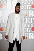 "Uzoechi ""Uzo"" Emenike aka MNEK attends The BRIT Awards 2017 at The O2 Arena on February 22, 2017 in London, England. (Photo by John Phillips/Getty Images)"