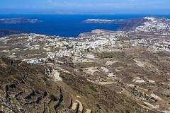 Panorámica de Santorini (guillenperez) Tags: greece grecia island isla santorini thira fira view vista thera panoramic panoramica monasterio monastery prophet profeta elijah elias