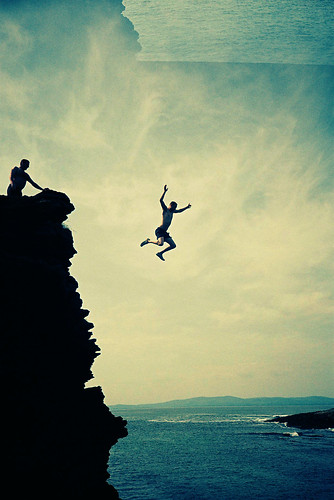 Cliff Jump by Cormac Phelan.