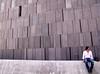 Waiting... (CoolMcFlash) Tags: vienna wien man architecture person photography austria österreich fotografie mark mq sit wait architektur fujifilm mann beton museumsquartier warten mumok sitzen s100fs rogado stadtgetty2010 gettyimagessalq1