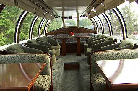 Train Chartering - Private Rail Car Northern Sky - dome (USA)