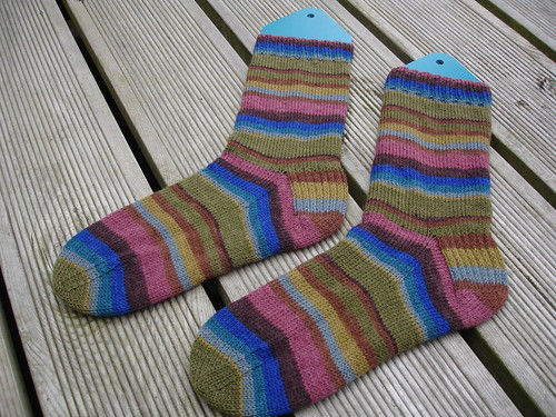 Wolfgang's stripy socks 001