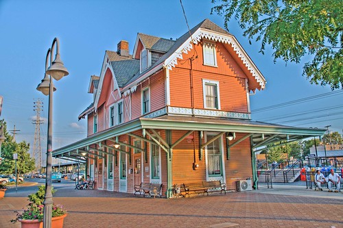 Red Bank NJ Train Station por KennyL2007.