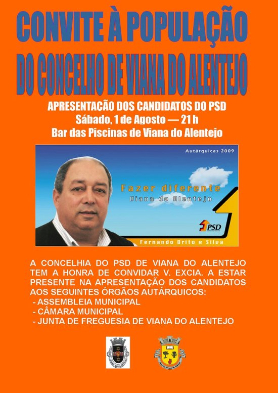 Apresentação Candidato Viana
