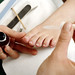 "Pedicure Polish<br /><span style=""font-size:0.8em;"">This Classic Pedicure includes nail shaping, cuticle trimming, plus a massage followed by a polish application which will leave your feet silky soft and beautiful.</span> • <a style=""font-size:0.8em;"" href=""http://www.flickr.com/photos/40929849@N08/3763643398/"" target=""_blank"">View on Flickr</a>"
