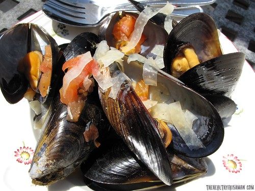 Steamed Mussels with Star Anise and Fennel
