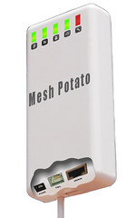 Mesh Potato - Mock-up of final unit