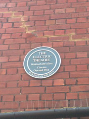 Photo of Electric Theatre blue plaque
