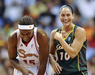 Uncasville CT Connecticut Sun WNBA Basketball vs. Seattle Storm #1 Aug  13, 2009