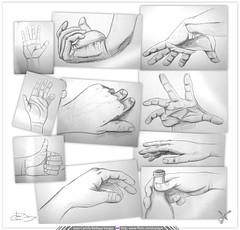 Ilustración Tradicional / Lápiz sobre papel / Manos, manitas y  manotas (Juan Camilo Bedoya Vargas) Tags: illustration sketch hands hand arte lapiz manos mano draw dibujo ilustración boceto camilobedoya