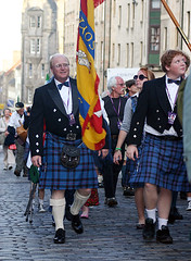 Clan Elliot in The clan Parade