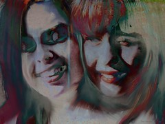 Tu me le diras plutard_painter (vinciane.c) Tags: portrait smile painting happiness younggirls facecloseup manipulationsphotoshopsoftcoloursyouthfacecloseup
