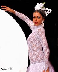 Luna Flamenca (Xavivi.) Tags: espaa dance spain andalucia nikond50 baile flamenco mlaga duende xavivi feria2009 peaparquemediterraneo