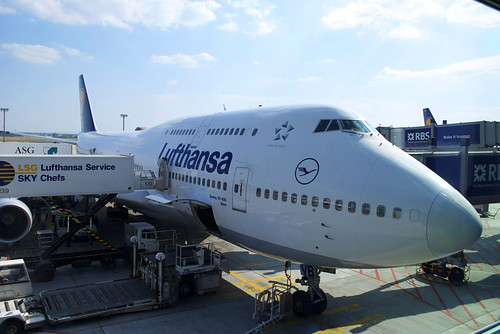 Lufty 747-400 to Hong Kong